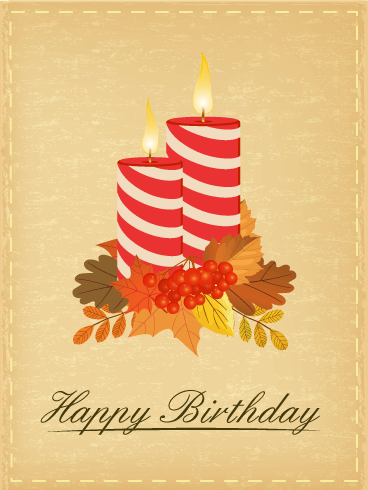Birthday Peaceful Candle Card Birthday Amp Greeting Cards By Davia