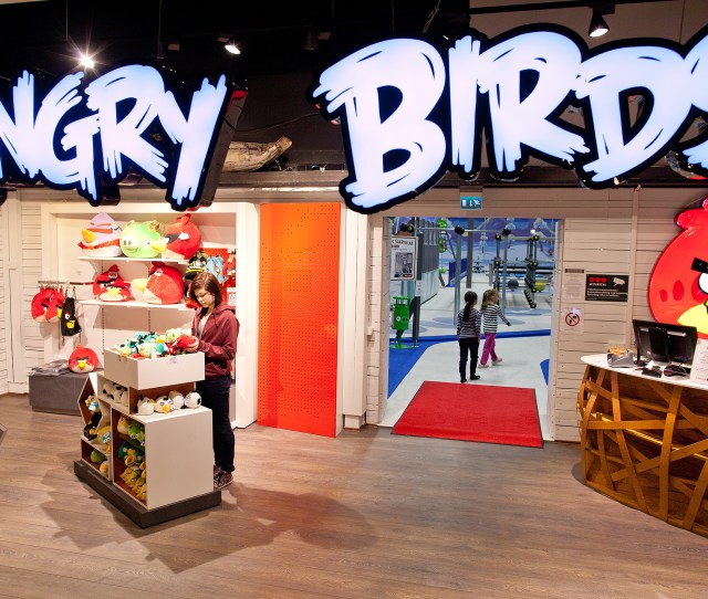 The Angry Birds Shop Is Located Right In Front Of Angry Birds Activity Park