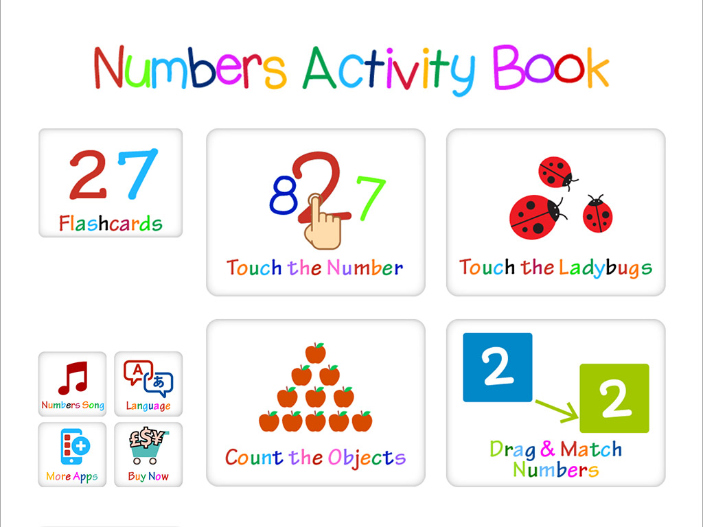 Kindergarten Activity Book For Numbers Learning Amp Recognition