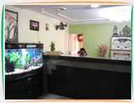 Reception at Hotel Konark, Puri