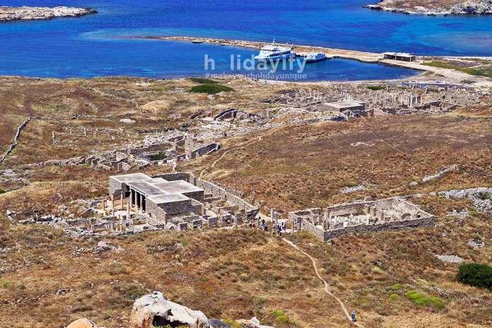 Antik Delos, Yunanistan
