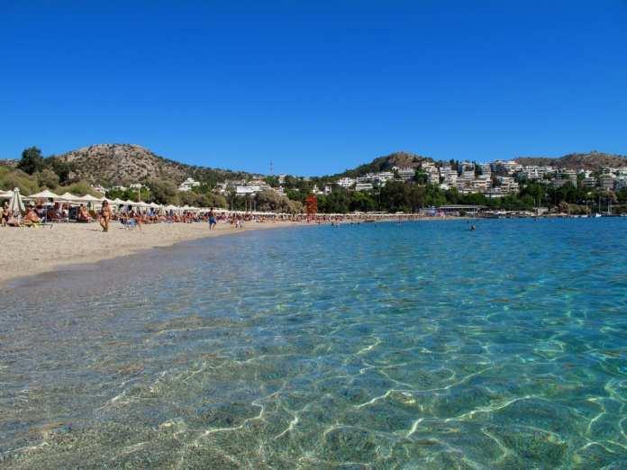 Vouliagmeni plajı, Atina