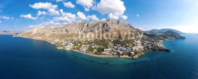 Myrties köyü, Kalimnos, Yunanistan