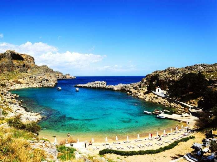 St. Paul's koyu, Rodos adası