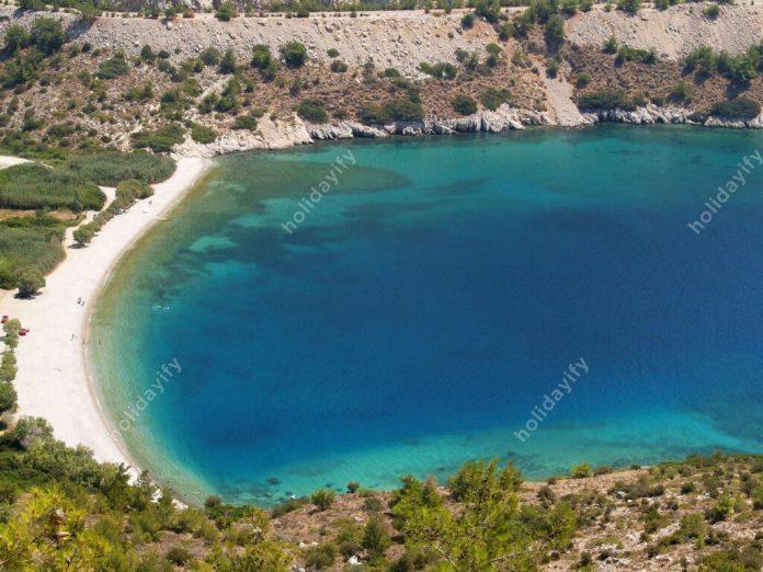 Elinda Plajı, Sakız Adası, Yunanistan