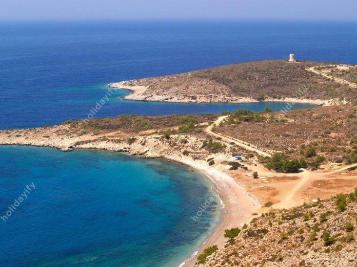 Tigani Plajı, Sakız Adası, Yunanistan