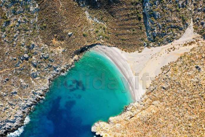 Sykate Beach, Kalymnos, Greece