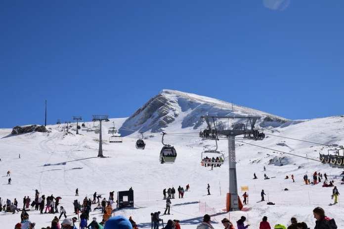 Parnassos Ski Centre in Greece