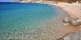 Lia Beach, Mykonos island