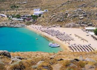Super Paradise Beach, Mykonos island