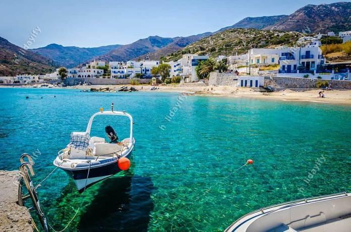 Apollonas Village, Naxos island
