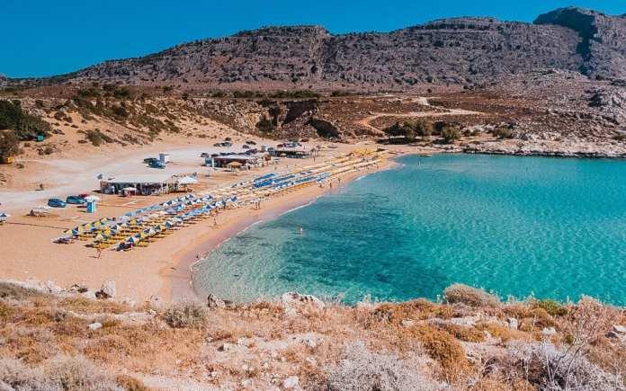 Rodos Agathi Plajı