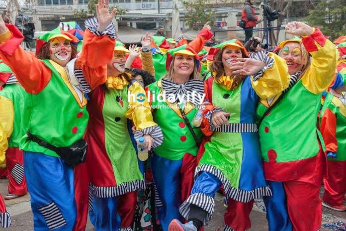 Xanthi Carnival - Crazy Clowns