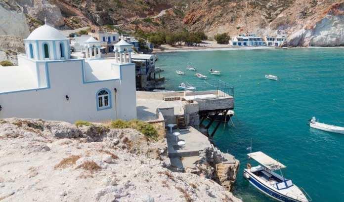 Milos Adası, Yunanistan