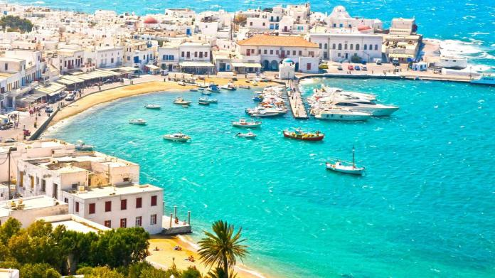Mykonos Adası, Yunanistan