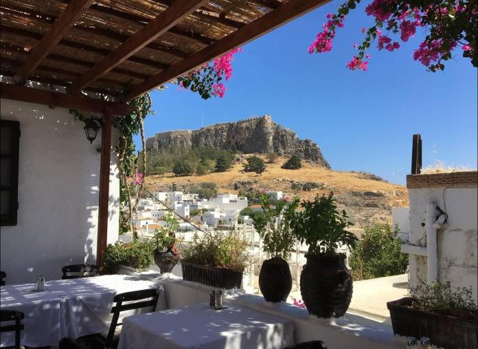 Rhodes Arhontiko Restaurant