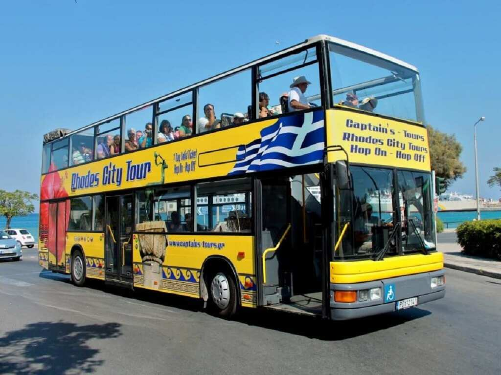 City Tour in Rhodes by Bus