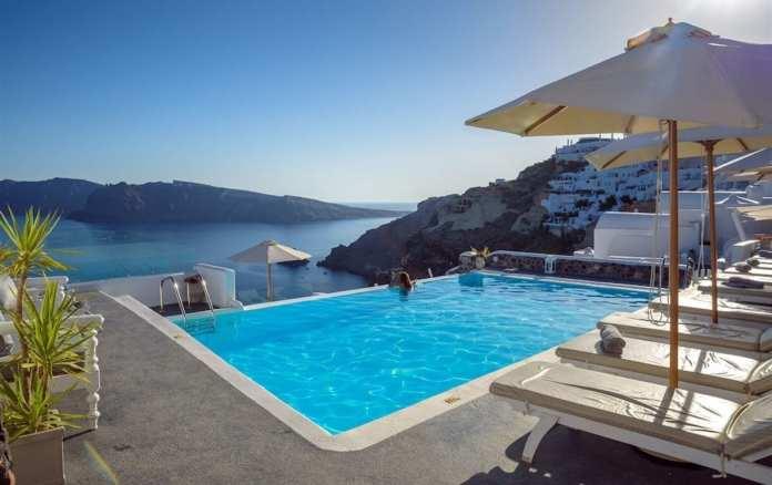 La Perla Villas, Oia, Santorini, Greece