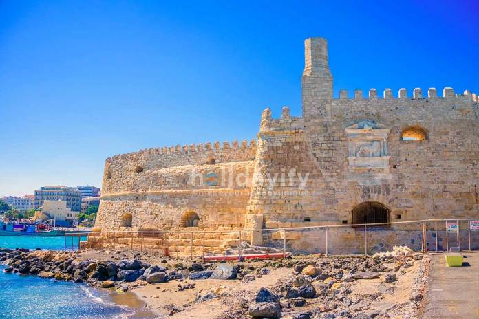 Venetian fortress of Koules at Heraklion Crete