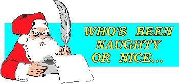 Santa, claus, list, day, christmas