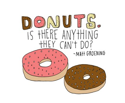 Donuts by Lisa Congdon