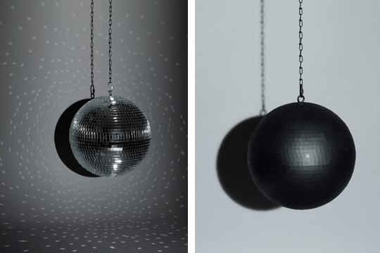 Disco balls can be introverted too