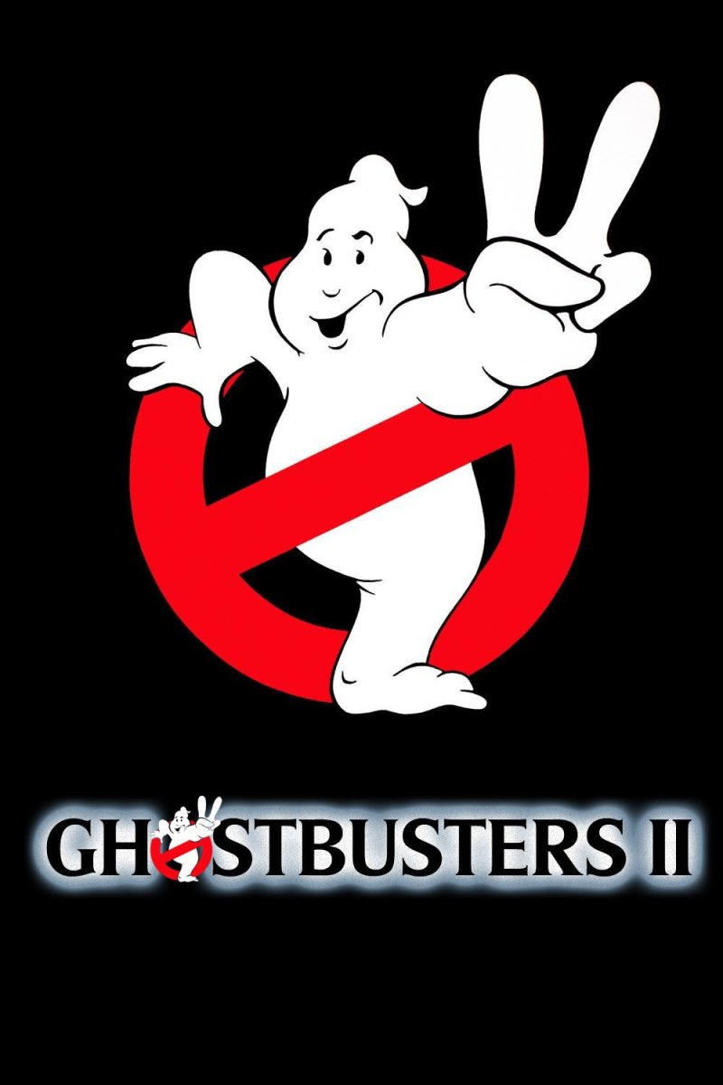 "Poster for the movie ""Ghostbusters II"""