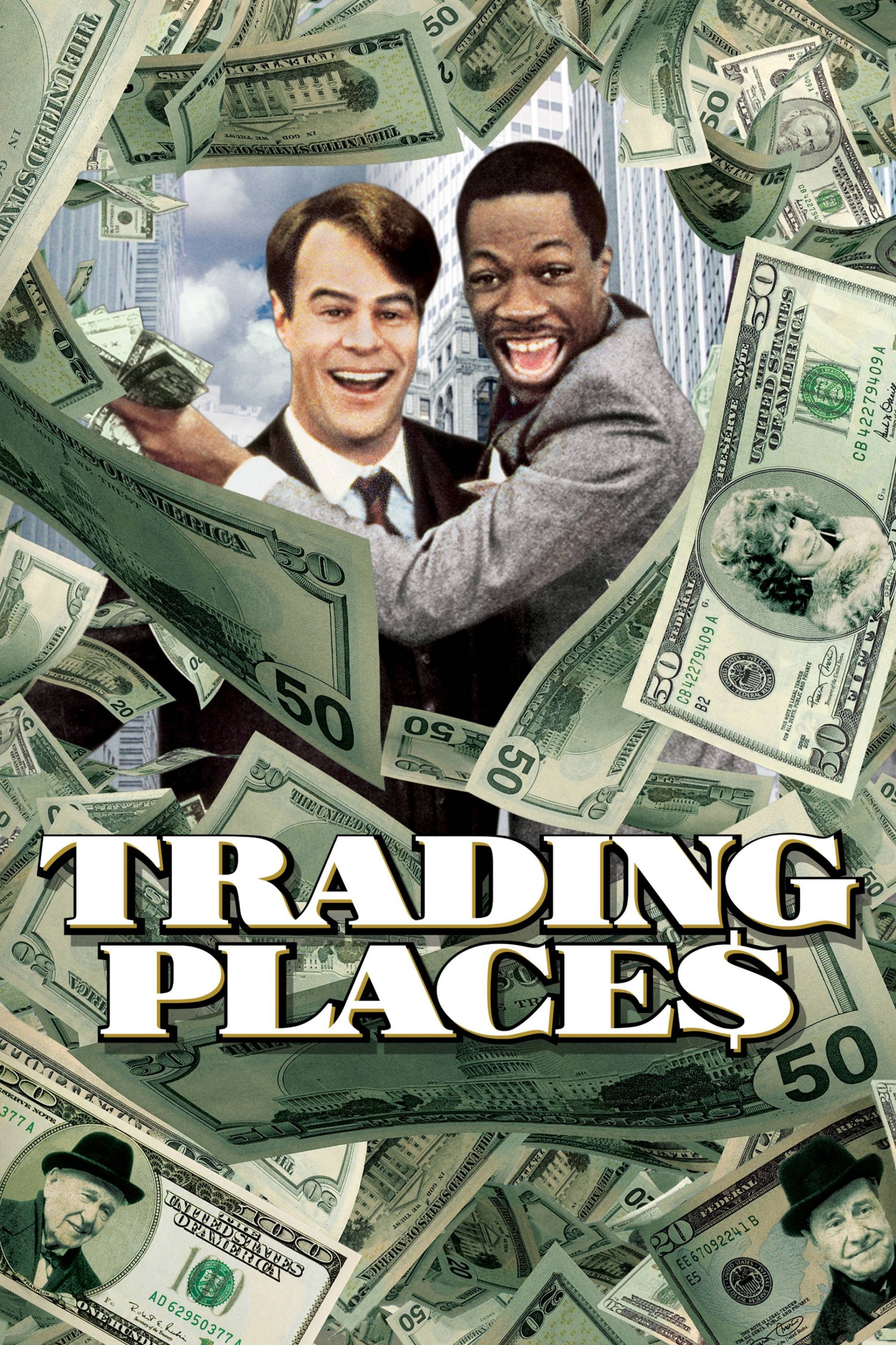 """Poster for the movie """"Trading Places"""""""