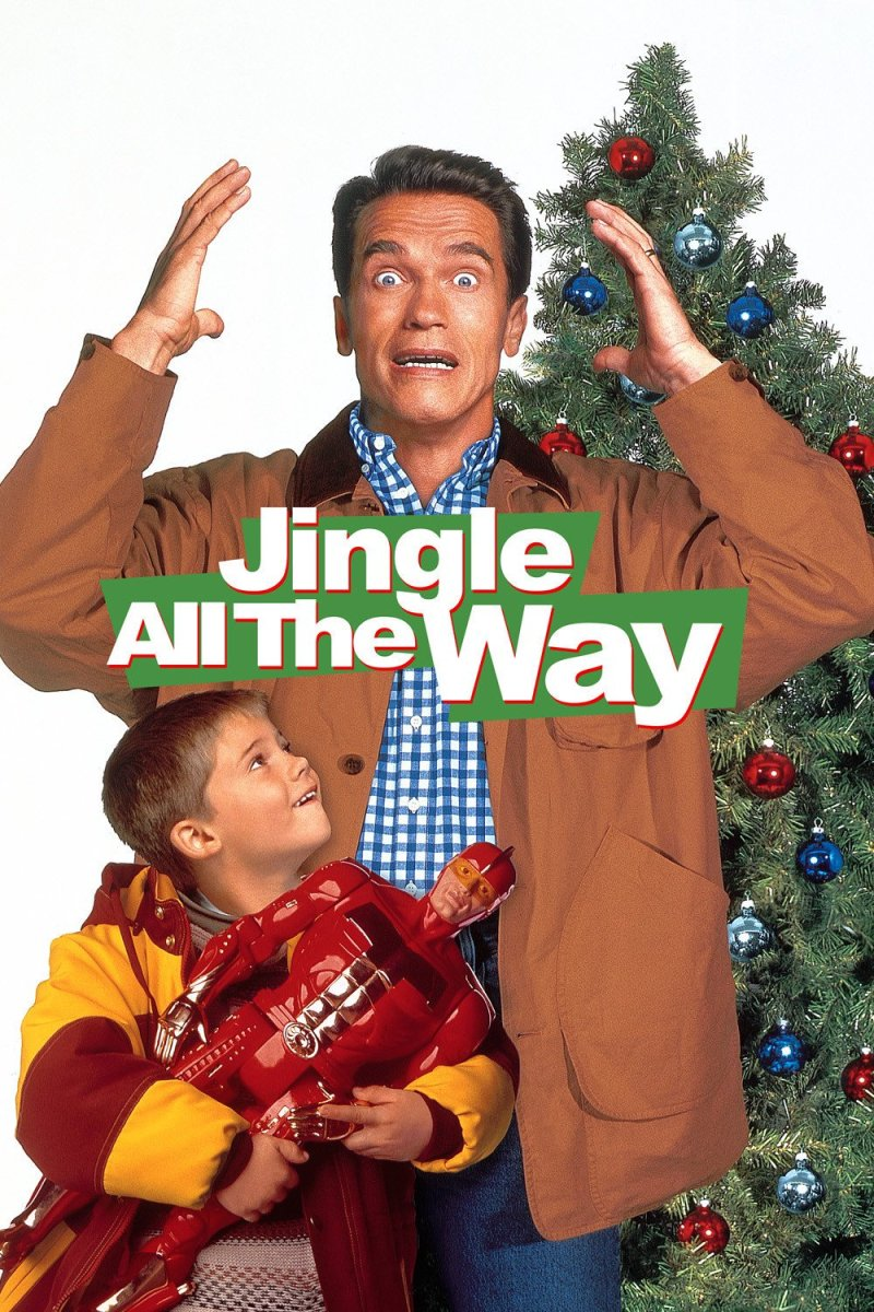 "Poster for the movie ""Jingle All the Way"""