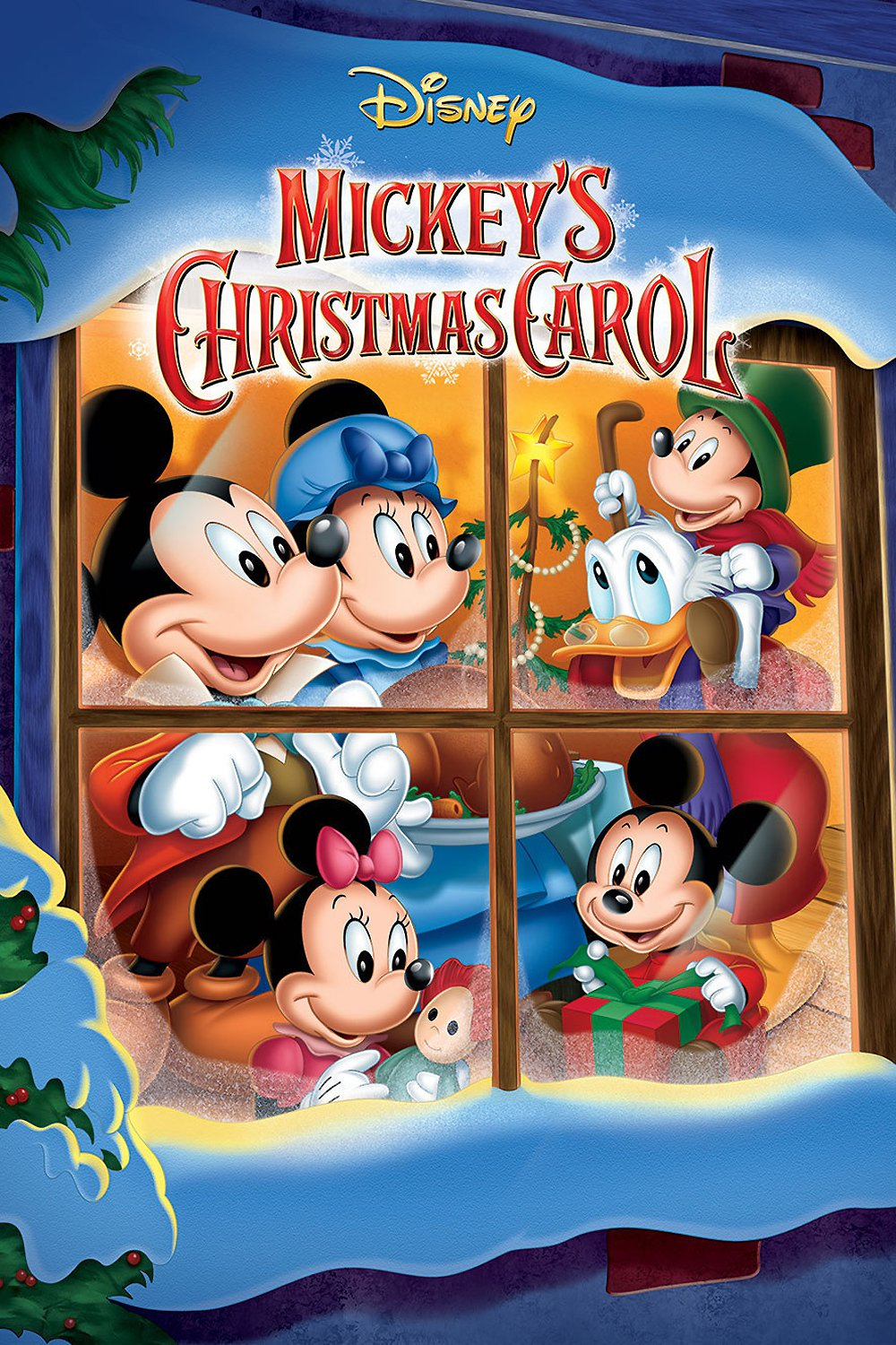 """Poster for the movie """"Mickey's Christmas Carol"""""""