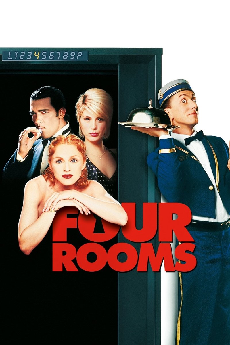 "Poster for the movie ""Four Rooms"""