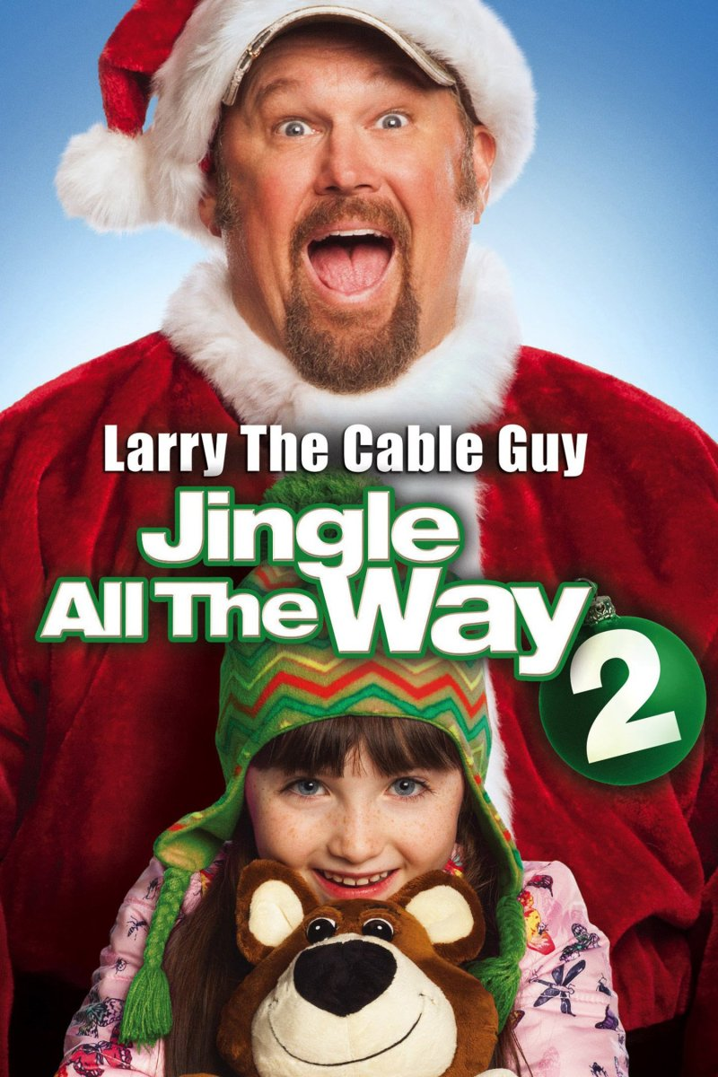 "Poster for the movie ""Jingle All the Way 2"""