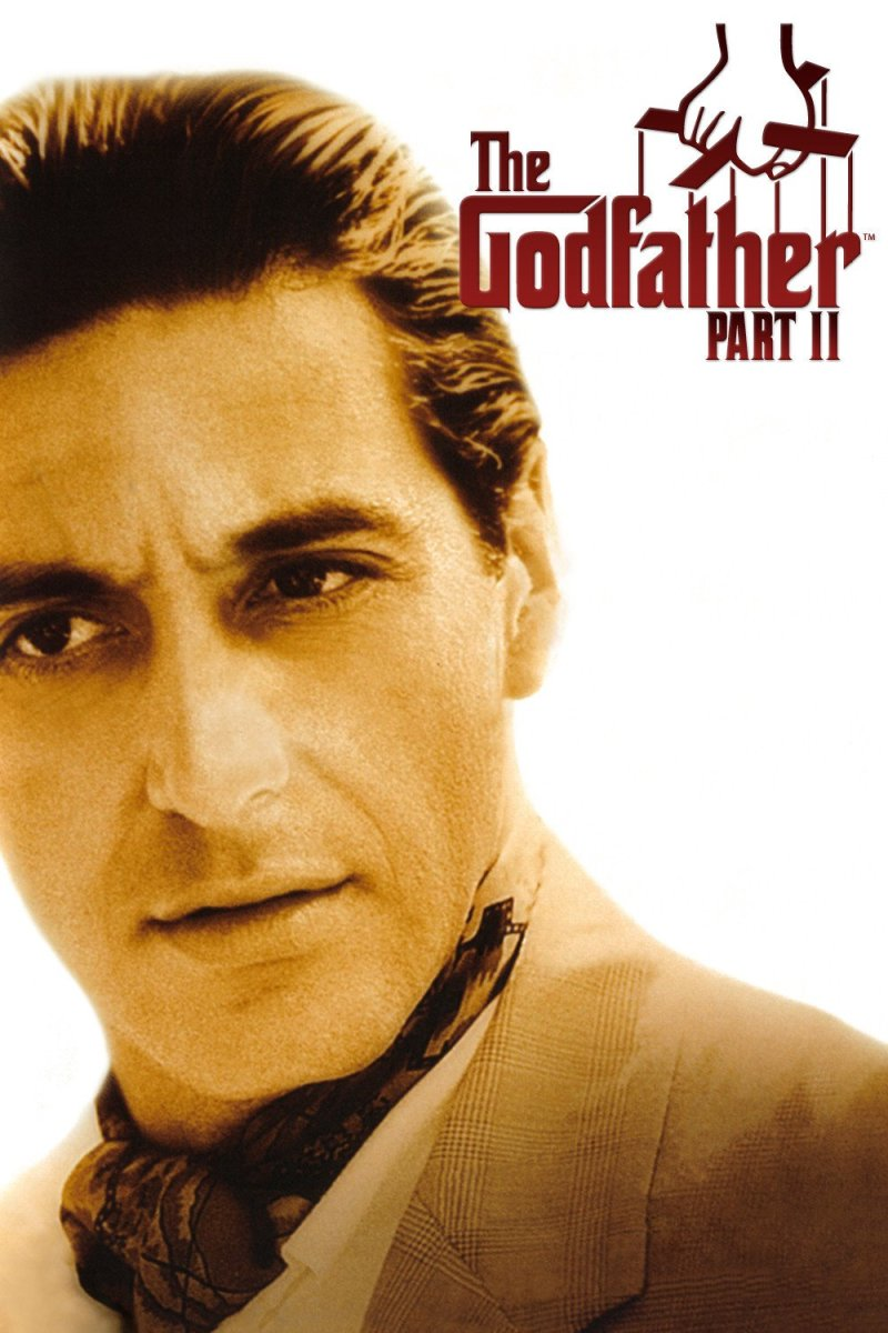 "Poster for the movie ""The Godfather: Part II"""