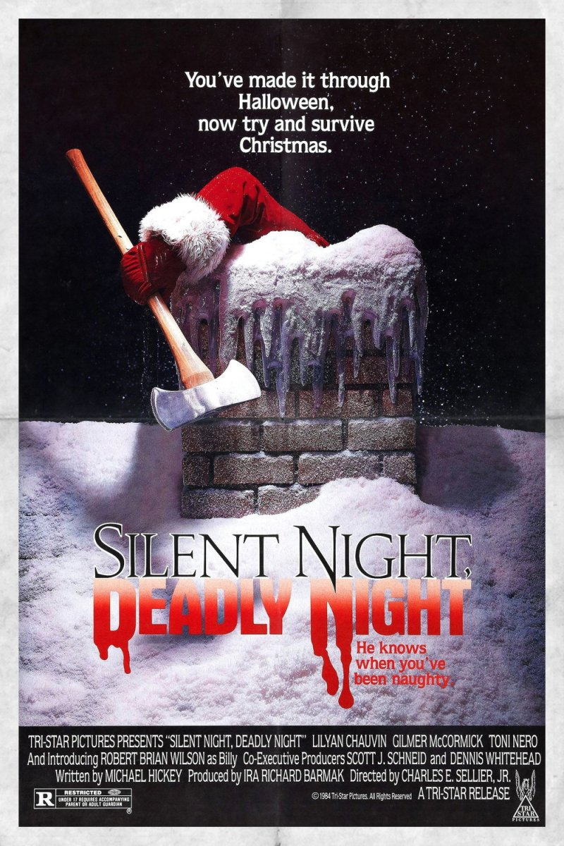 "Poster for the movie ""Silent Night, Deadly Night"""