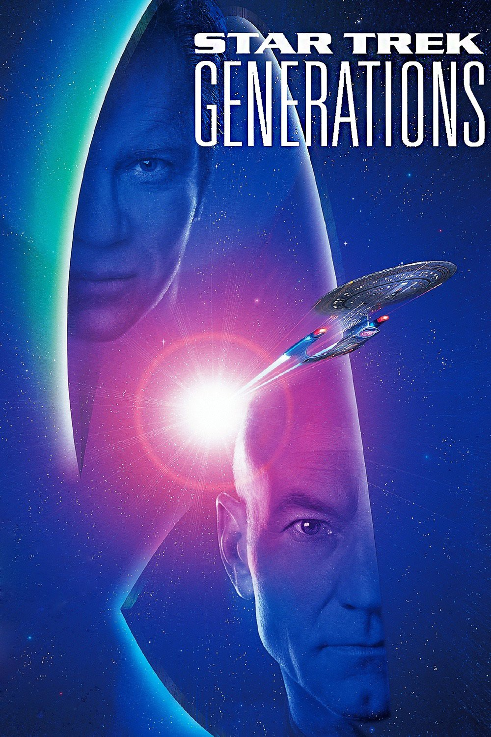 """Poster for the movie """"Star Trek: Generations"""""""