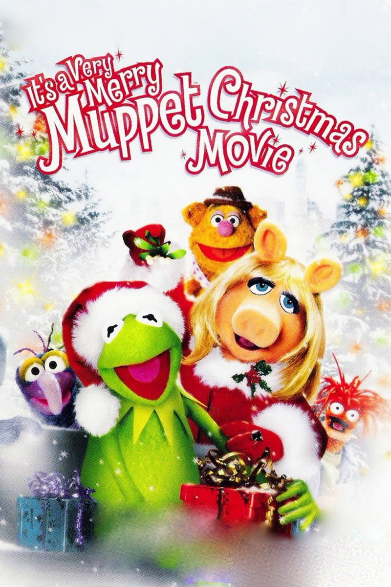 "Poster for the movie ""It's a Very Merry Muppet Christmas Movie"""
