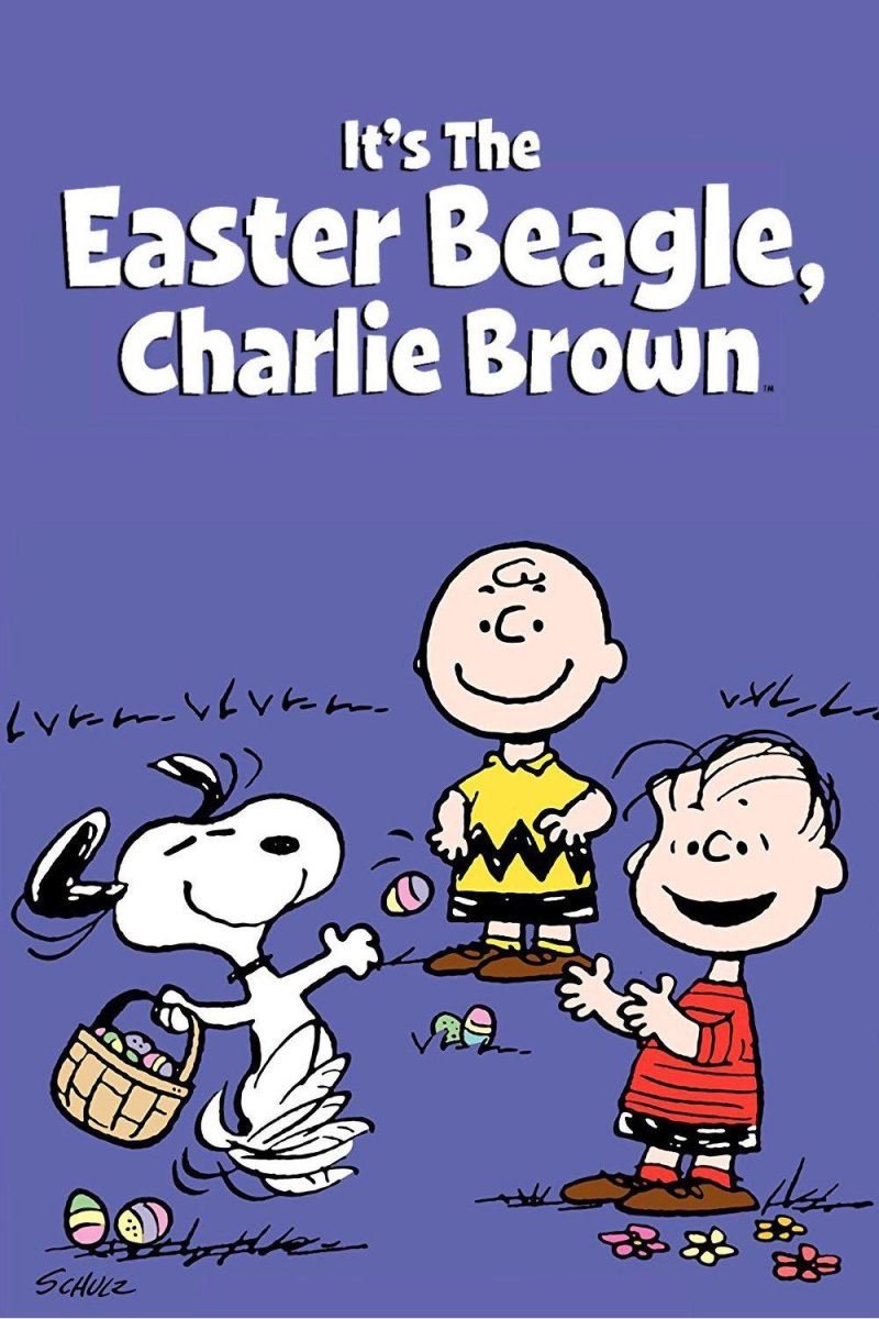 "Poster for the movie ""It's the Easter Beagle, Charlie Brown"""