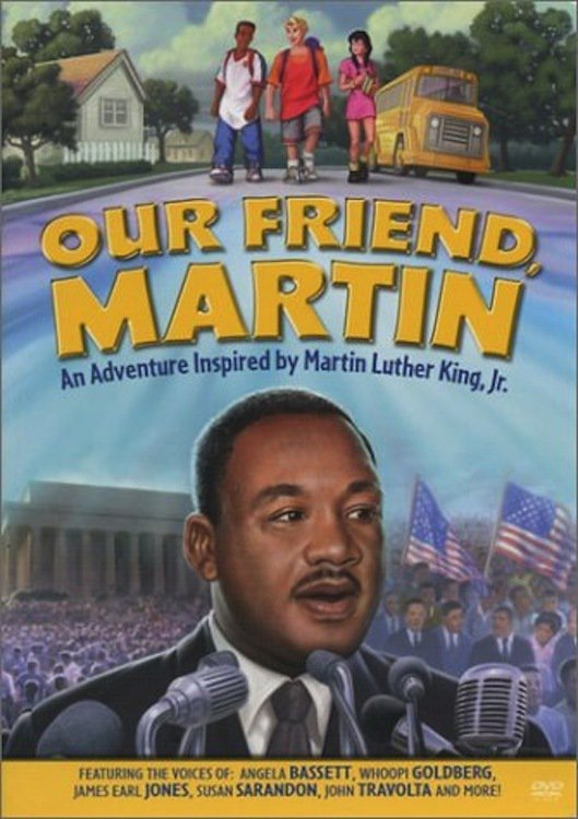 "Poster for the movie ""Our Friend, Martin"""