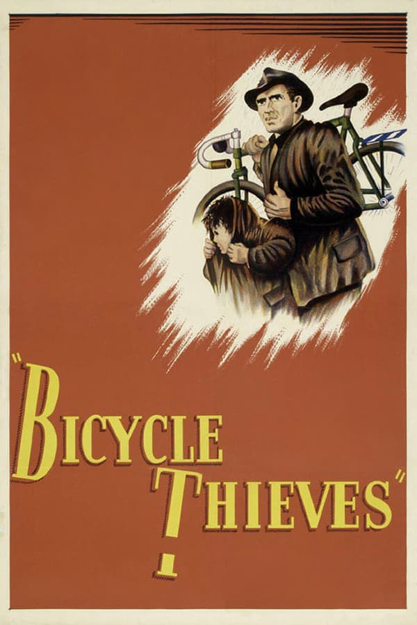 "Poster for the movie ""Bicycle Thieves"""
