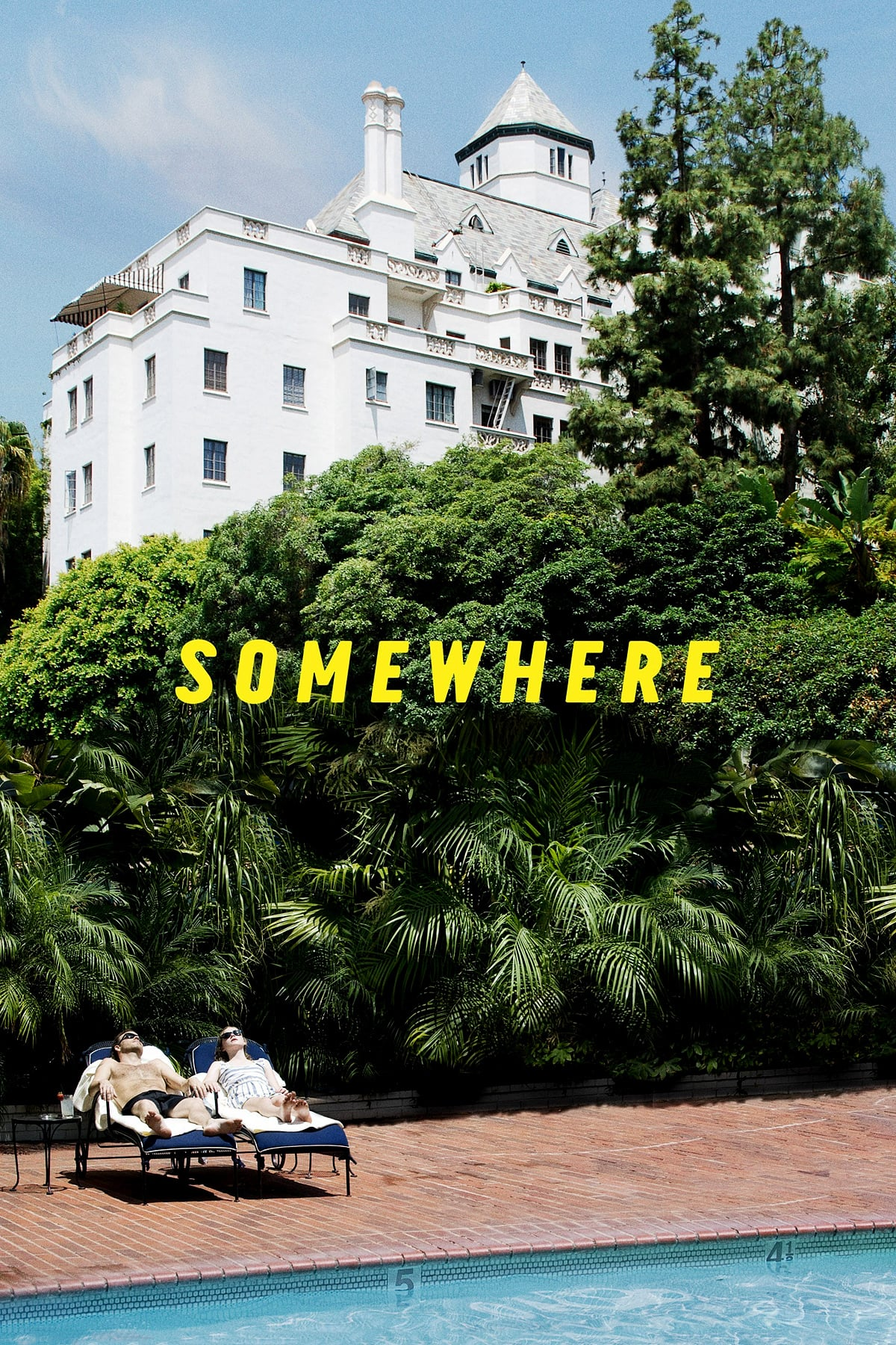 """Poster for the movie """"Somewhere"""""""