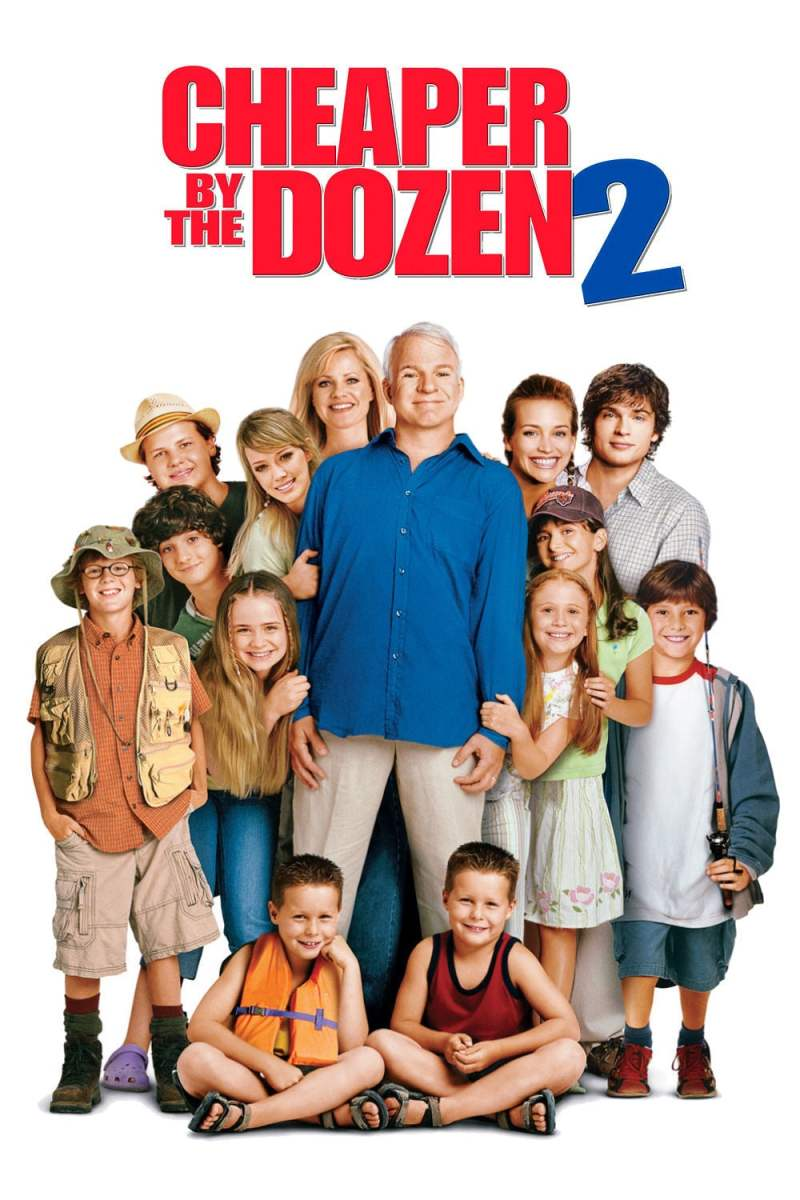 "Poster for the movie ""Cheaper by the Dozen 2"""