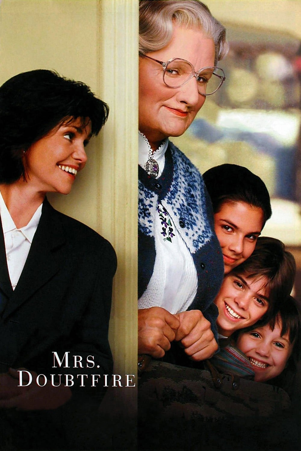 """Poster for the movie """"Mrs. Doubtfire"""""""