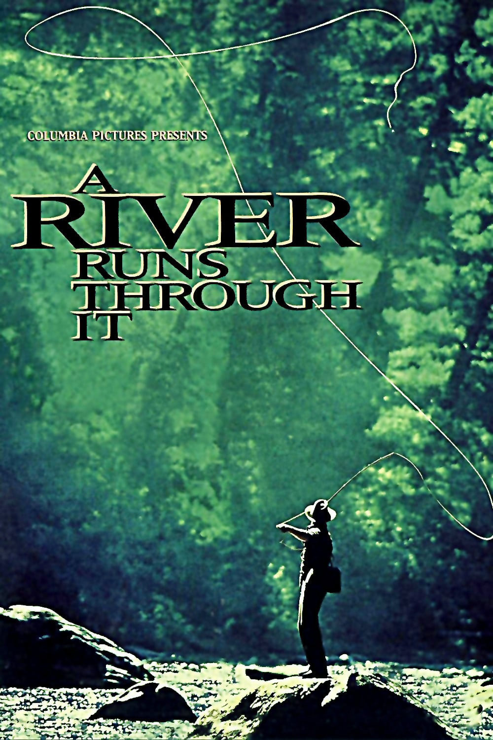 """Poster for the movie """"A River Runs Through It"""""""