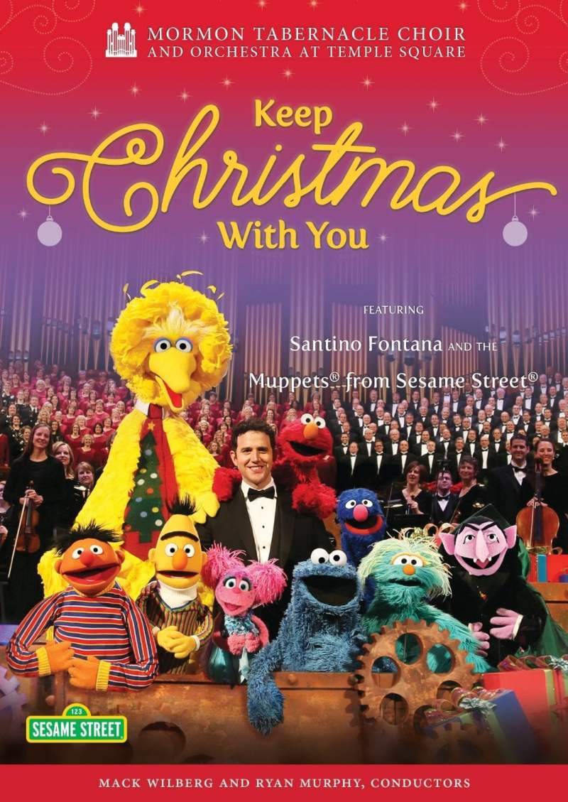 "Poster for the movie ""Mormon Tabernacle Choir: Keep Christmas With You"""
