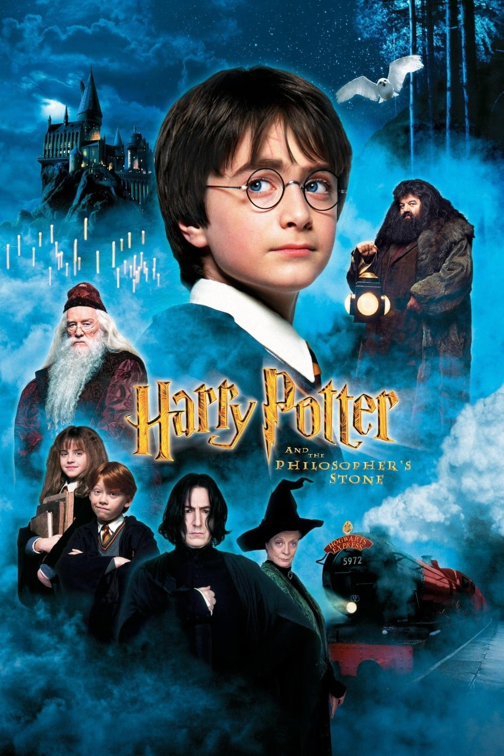 "Poster for the movie ""Harry Potter and the Philosopher's Stone"""
