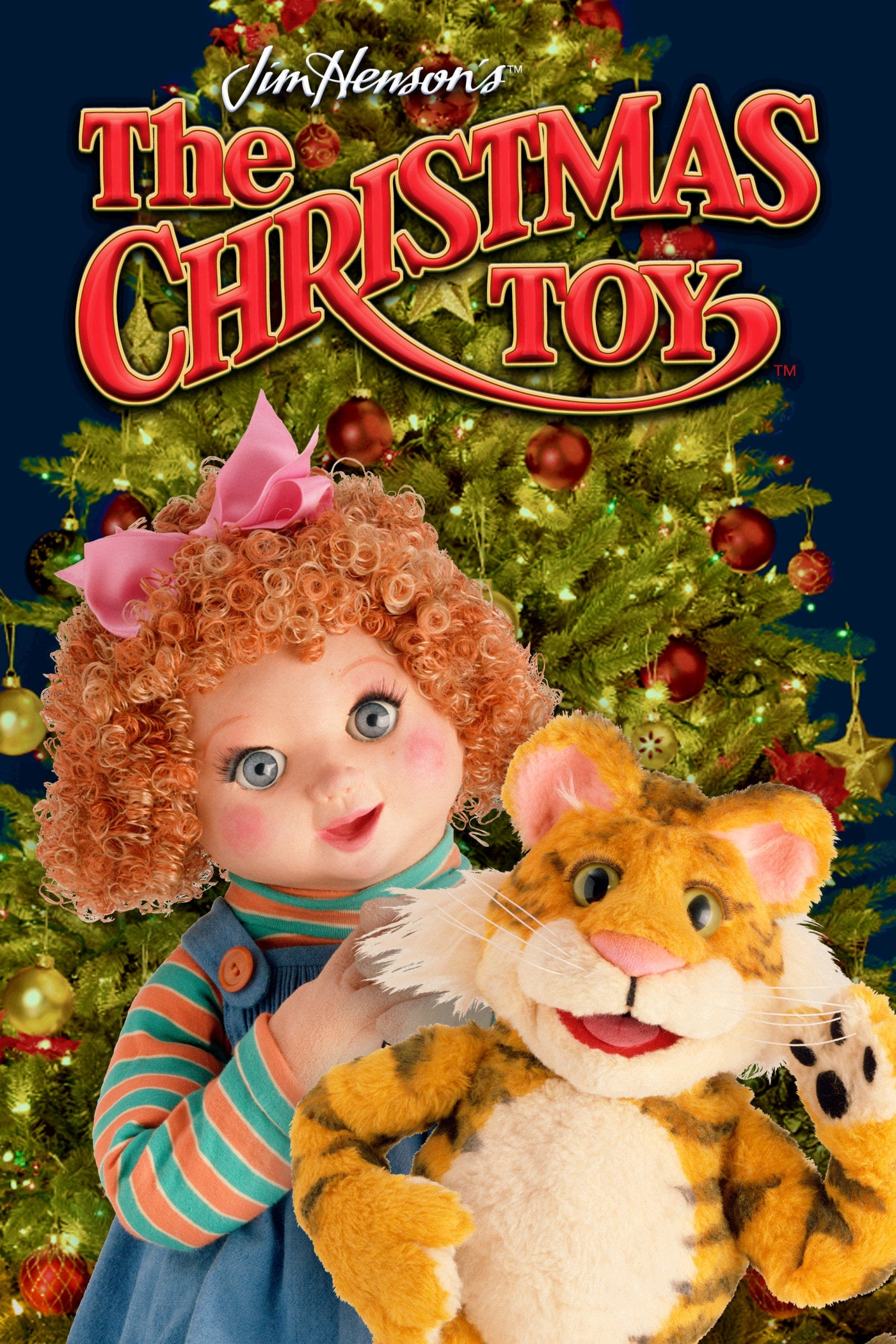 "Poster for the movie ""The Christmas Toy"""