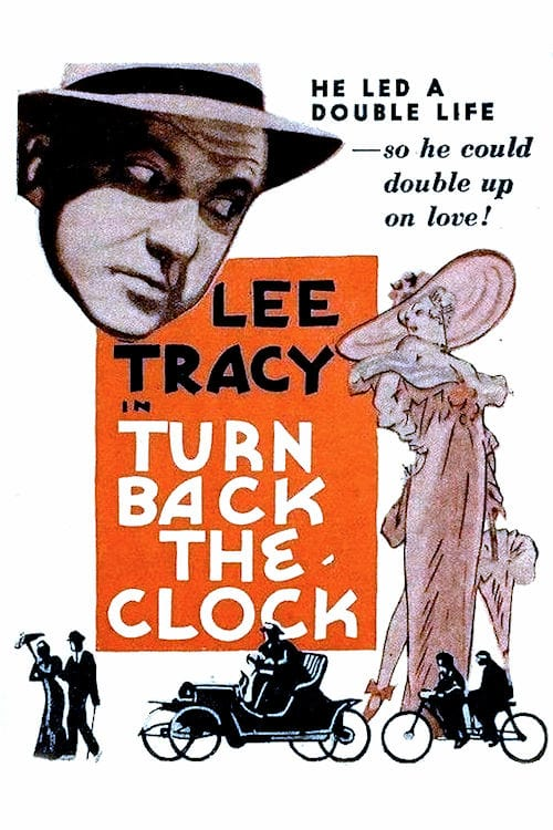 "Poster for the movie ""Turn Back the Clock"""
