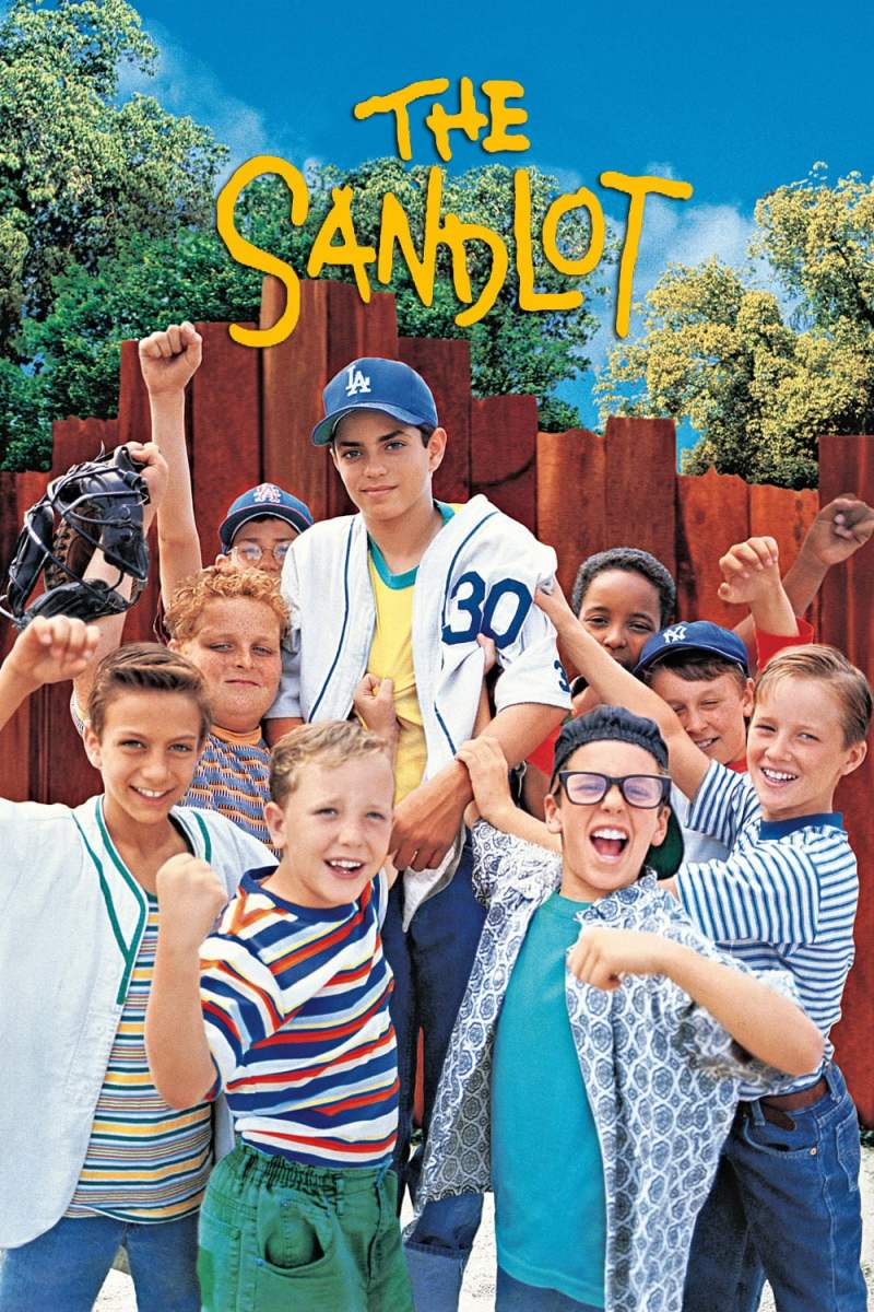 "Poster for the movie ""The Sandlot"""