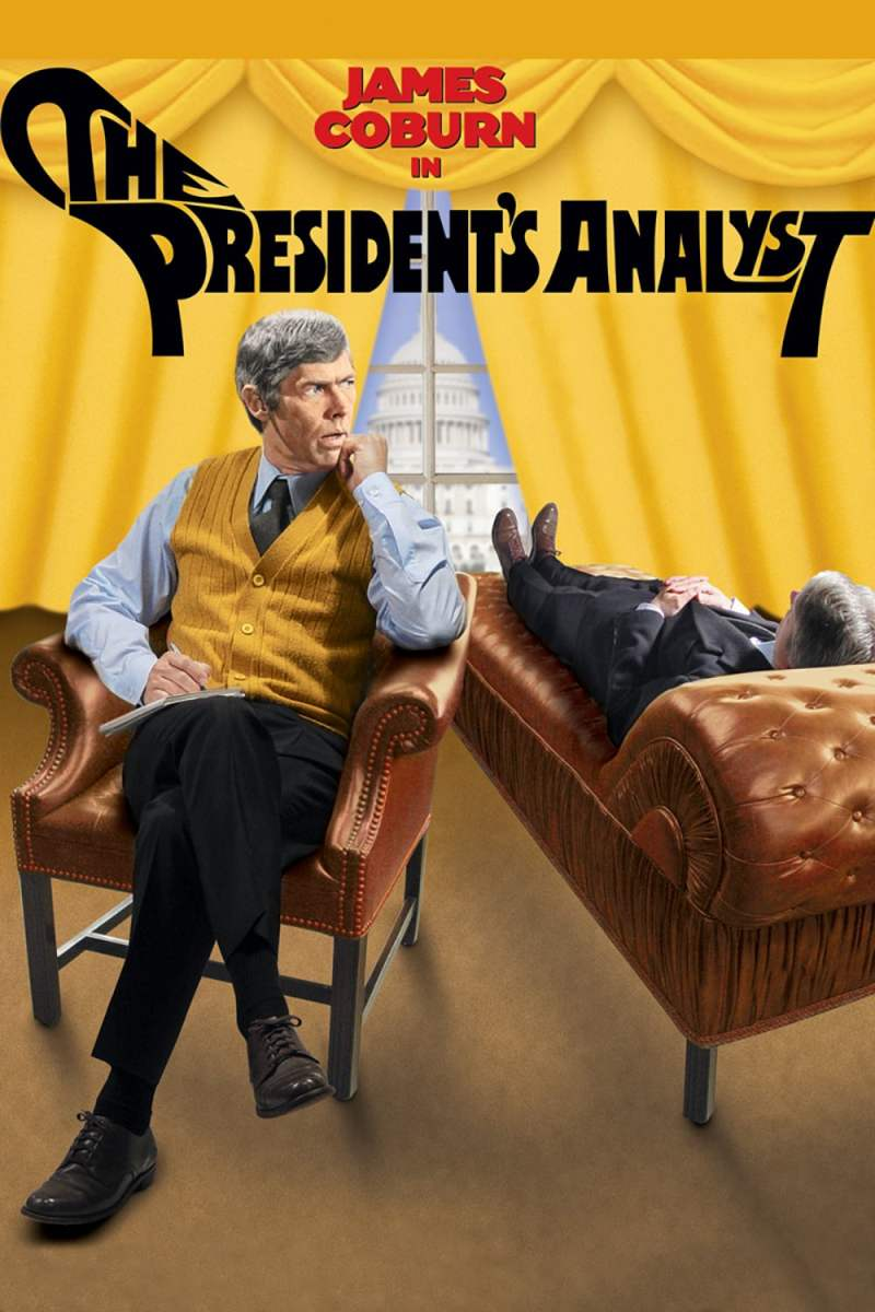 "Poster for the movie ""The President's Analyst"""