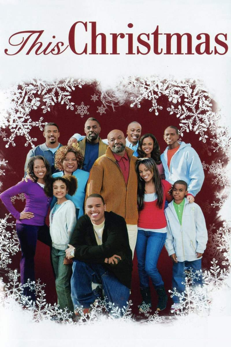 "Poster for the movie ""This Christmas"""